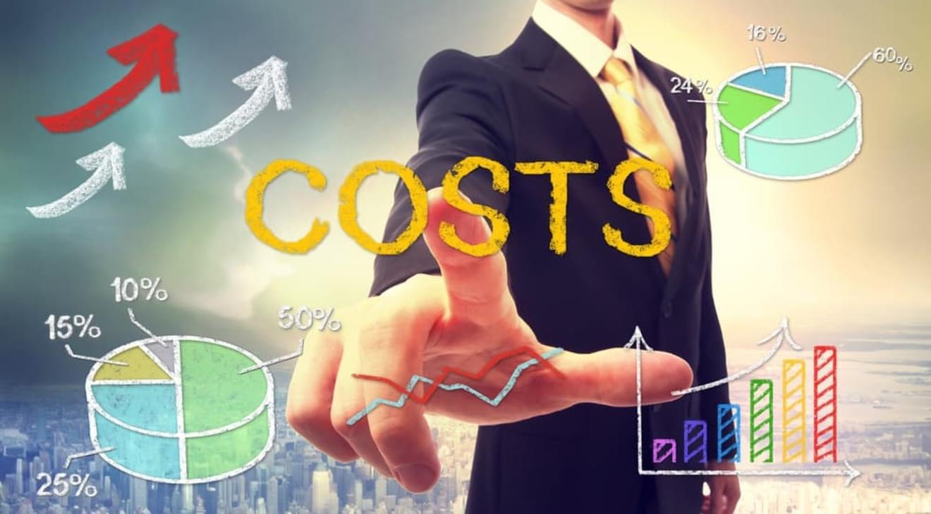 原価と販管費の振替割合